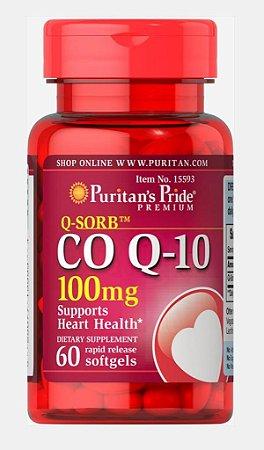 Coq10 100mg 60 softgels PURITANS Pride