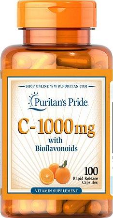 Vitamin vitamina C 1000 mg with Bioflavonoids 100 capsules PURITANS Pride