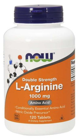 L Arginine arginina Double Strength 1000 mg 120 Tablets
