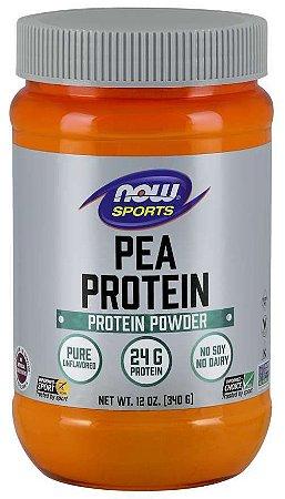 Pea Protein Proteina de ervilha 12oz 340g NOW Foods