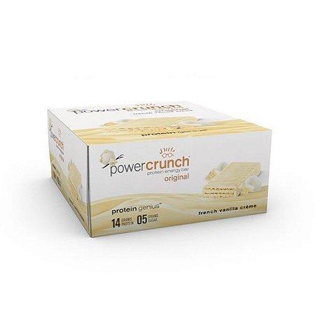 Power Crunch French Vanilla Barrinha Caixa com 12 unidades FRETE GRATIS