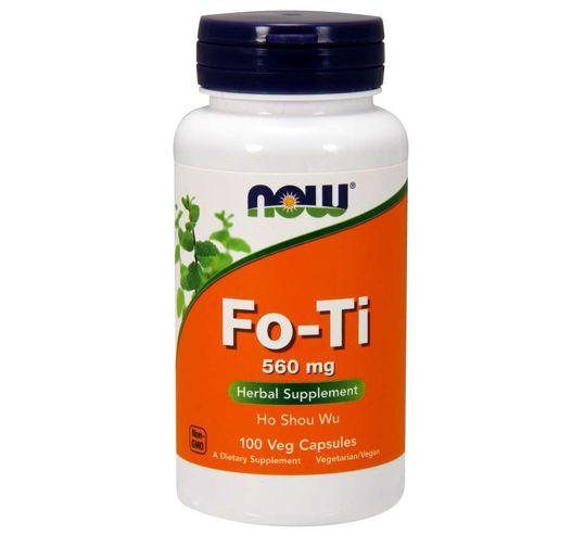 Fo-Ti 560 mg 100 Veg Capsules NOW Foods