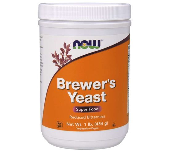 Brewer s Yeast Powder 1lb 454g NOW Foods