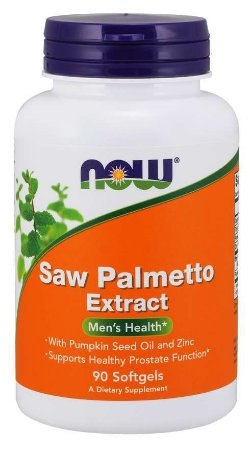 Saw Palmetto Extract 80 mg 90 Softgels NOW Foods