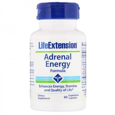 Adrenal Energy 60 Caps LIFE Extension