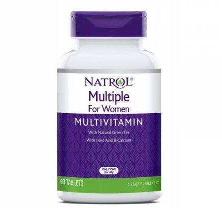 Multivitaminico para mulher Multiple for women 90 tablets NATROL