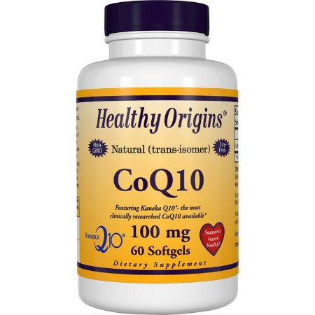 CoQ10 100mg 60 softgels HEALTHY Origins