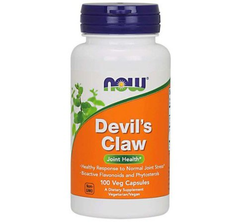 Devil's Claw 100 Veg Capsules NOW Foods