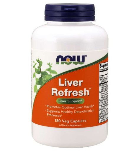 Liver Refresh 180 Veg Capsules NOW Foods