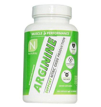 Arginine arginina 100 capsules NUTRAKEY