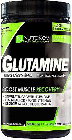 Glutamine glutamina 500g NUTRAKEY