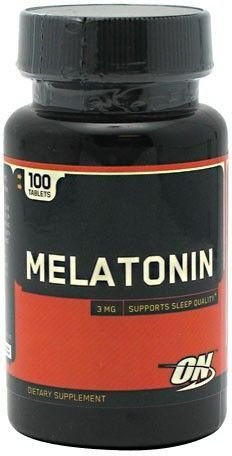 Melatonina 3mg 100 comprimidos ON