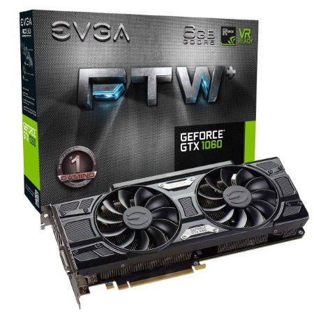 Placa de video GTX1060 FTW+ 6GB ACX3.0 DDR5