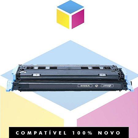 Toner Compatível HP Q6000A Q6000AB Preto | 2605DN 2600 2600N 2600DTN | 2.5k
