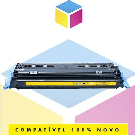 Toner Compatível HP Q6002A Q6002AB 124A Amarelo Yellow | 2605DN 2600 2600N 2600DTN | 2k