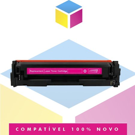 Toner Compatível HP W2023A 414A Magenta   SEM CHIP   M454DW M454DN M479FDW   2.1k