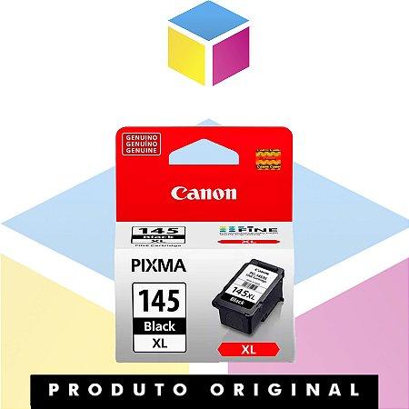 Cartucho de Tinta Canon original PG 145 XL Preto| Original 12 ml
