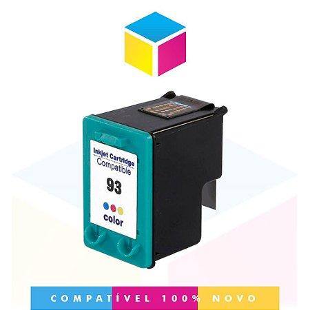 Cartucho de Tinta Compatível com HP 93 C 9361 WB Color | Deskjet 5440 Photosmart 7850 6210 14ml