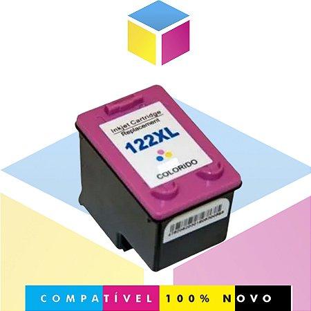 Cartucho de Tinta HP 122 XL 122 Colorido Compatível | A CH 564 HB CH564HB | 13ml