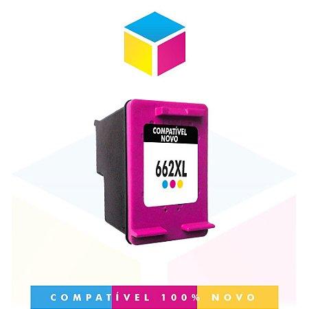 Cartucho de Tinta Compatível HP 662 XL Colorido | 10ml - HP 662