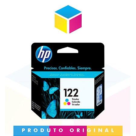 Cartucho de Tinta original HP 122 CH 562 HB Colorido | 2ml