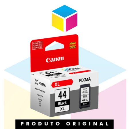 Cartucho de Tinta Canon PG 44 XL Preto | Original 15.0 ml