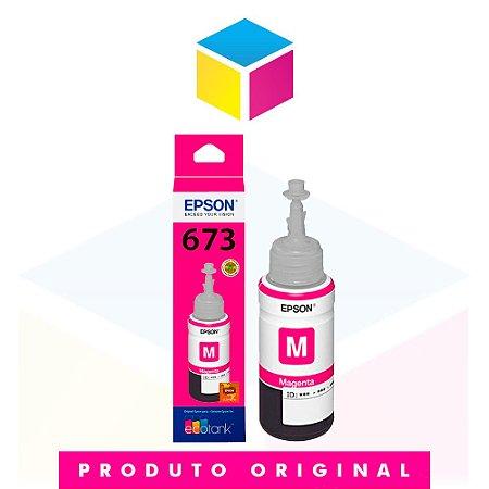 Tinta Epson original 673 T 673 T 673320 Magenta | L 800 L 810 L 805 L 1800 | 70ml