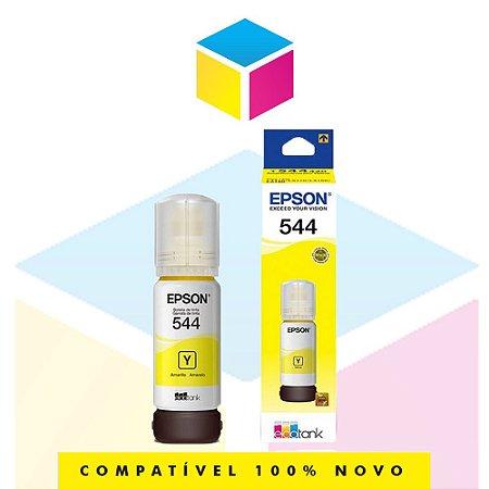 Tinta Epson 544 T 544 T 544420 Yellow |L 1110 |L 3150| L 3110 | L 5190| Original 65ml