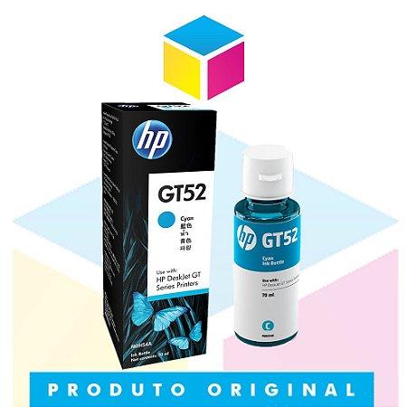 Tinta HP original GT 52 GT 52 C M0H 54 AL Ciano | GT 5822 GT 5822 GT-5822 | 70ml