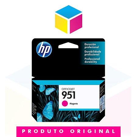 Cartucho de Tinta HP 951 CN 051 AL Magenta | 8610 8620 8100 8600 Plus 8630 | Original 8ml