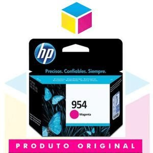 Cartucho de Tinta HP 954 L0S 53 AB Magenta | 8700 8710 8715 8720 8716 8725 8210 8740 | Original 10ml