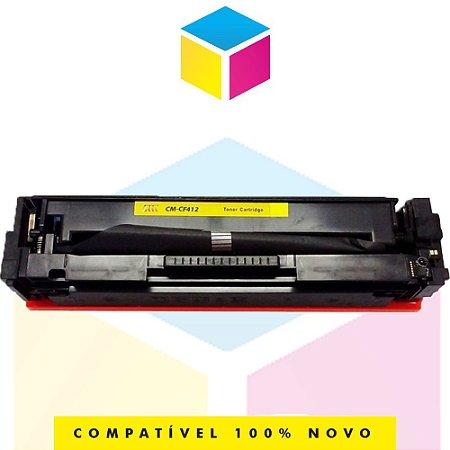 Toner Compatível HP CF 412 A 412 A Amarelo Yellow | M 251 NW M 276 NW, M 251 N, M 276 N, M 251, M 276 | 2.3k