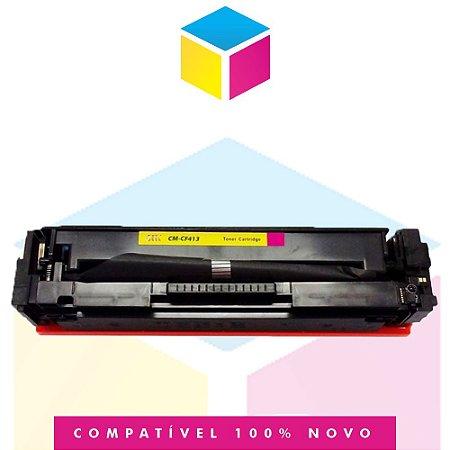 Toner Compatível HP CF 413 A Magenta | M 452 DW, M 452 DN, M 477 FDW, M 477 FNW, M 477 FDN | 2.3k