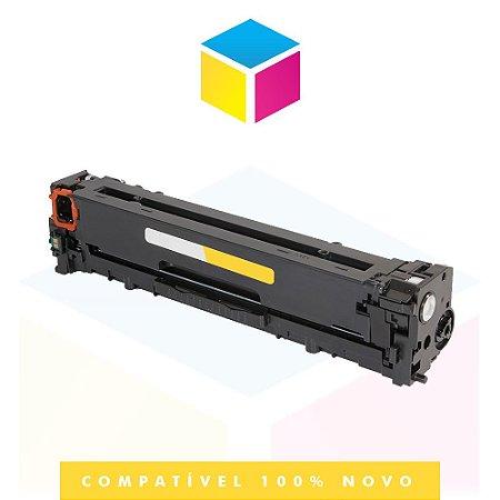 Toner Compatível HP CB 542 A CB 542 AB 125 A Amarelo | CP 1518 CP 1215 CM 1312 CP 1510 CP 1515 | 1.4k