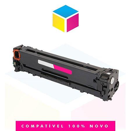 Toner Compatível HP CB 543 A CB 543 AB 125 A Magenta | CM 1312 CP 1510 CP 1515 CP 1518 CP 1215 |1.4k