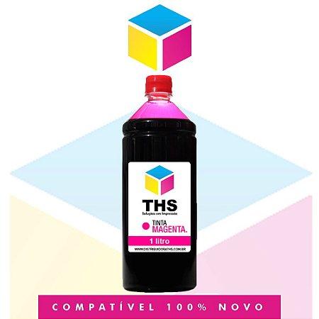 Tinta Corante compatível para HP Magenta | 1 Litro