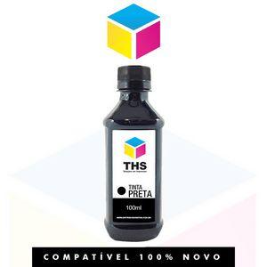 Tinta Corante compatível para HP Preto Black | 100 ml