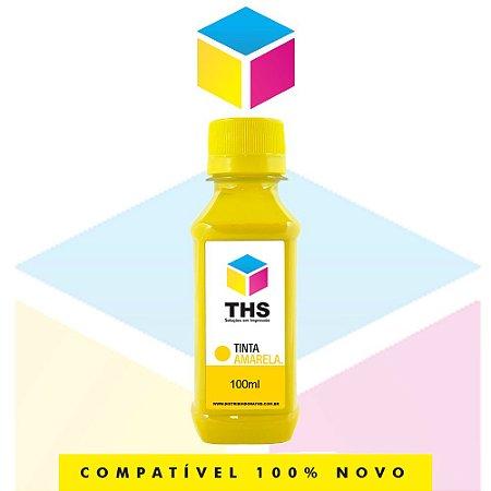 Tinta Corante compatível para Lexmark Amarelo Yellow   100 ml