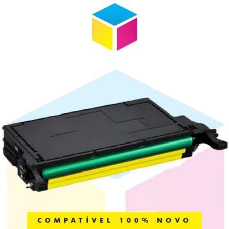 Toner Compatível Samsung CLT Y 609 S Y 609 S Amarelo Yellow   CLP 770 CLP 775 CLP 770 ND CLP 775 ND   7k