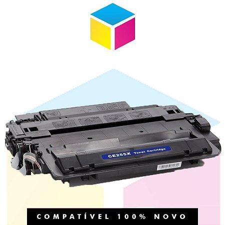 Toner Compatível HP CE 255 X CE 255 XB | P 3015, P 3015 N, P 3015 D, P 3015 DN, P 3015 X, M 525 F | 12.5k
