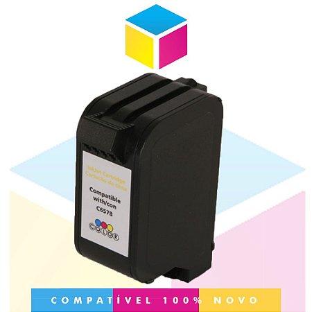 Cartucho de Tinta Compatível com HP 78 C 6578 DL Color 6578 | Deskjet 920 C P 1000 PSC 720 | 30 ml