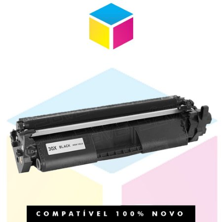 Toner Compatível HP CF 230 X 30 X CF 230 | M 203 M 227 M 203 DW M 203 DN M 227 FDW M 227 SDN | 3.5k
