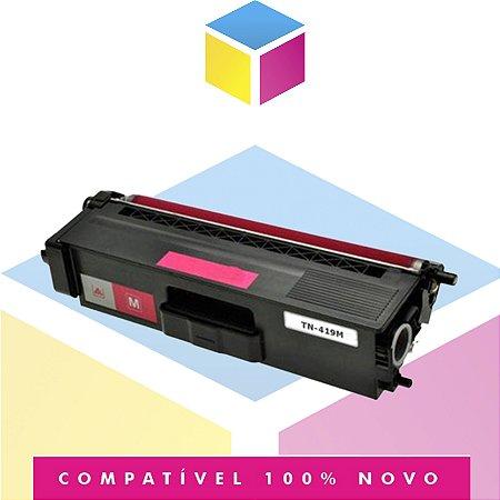 Toner Compatível para Brother TN-419 M TN 419 M TN 419 Magenta | HL-L 8360 CDW MFC-L 8610 CDW MFC-L 8900 CDW | 9K