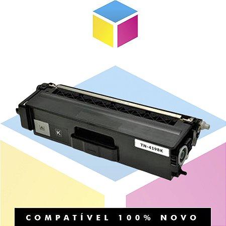 Toner Compatível para Brother TN-419 BK TN 419 BK TN 419 Preto | HL-L 8360 CDW MFC-L 8610 CDW MFC-L 8900 CDW | 9K