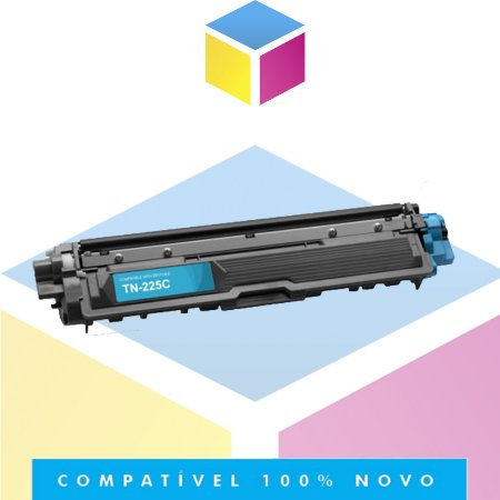 Toner Compatível para Brother TN 221 C TN 221 TN 225 C TN 225 Ciano | HL 3140 HL 3170 DCP 9020 MFC 9130 | 1.4K