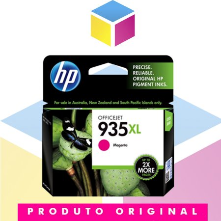 Cartucho de Tinta HP 935 XL C 2 P 25 AL C 2 P 25 AN Magenta | 6230 E 3 E 03 A 6830 E 3 E 02 A 934 | Original 9,5 ml