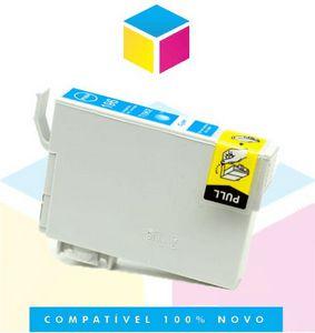 Cartucho de Tinta Epson Compatível 133 T 133 T 1332 Ciano | T 25 TX 125 TX 420 W TX 123 TX 320 F | 8ml
