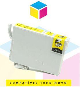Cartucho de Tinta Epson Compatível 133 T 133 T 1334 Amarelo Yellow | T 25 TX 125 TX 420 W TX 123 TX 320 F | 8ml