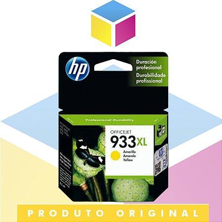 Cartucho De Tinta HP 933 XL Amarelo | CN 056 AL CN 056 AN CN 056 A 932 CN 056 AB 933XL YELLOW | Original 9ML