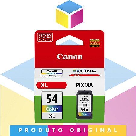 Cartucho de Tinta Canon CL 54XL CL54XL Colorido   Original 12,6ml